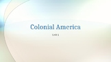 Colonial America Unit Notes