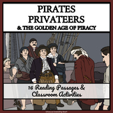 PIRATES AND PRIVATEERS - Reading Passages and Classroom Activities