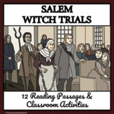 SALEM WITCH TRIALS - Reading Passages and Classroom Activities