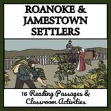 Colonial American Careers: Settlers - Roanoke and Jamestown