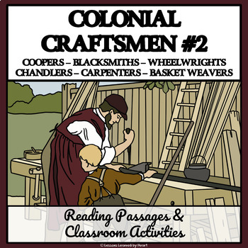 Colonial American Careers: Tradesmen and Craftsmen, Part 2