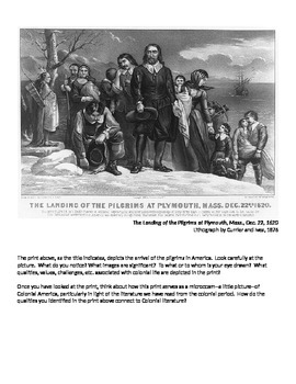 Colonial American Literature, from Art to Essay