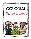 Colonial American Mini Biographies