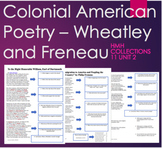 Colonial American Poetry Plans- Group, Individual or Sub P