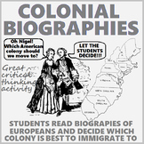 Colonial Biographies