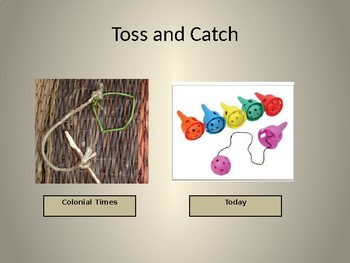 Colonial Children Games Powerpoint