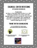 Colonial Children's Activities