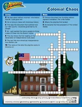 Colonial Choas Crossword Puzzle