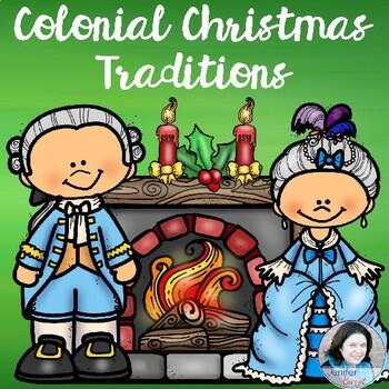 Colonial Christmas Traditions - Sensational History Snip-Its Series
