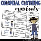 Colonial Clothing Mini-Books (Colonial America)