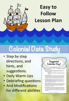 Colonial Data- Students Use Data to Tell the History