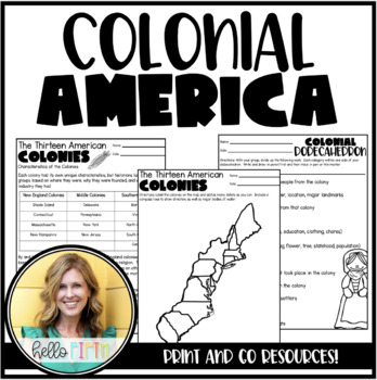 Colonial Days: A Social Studies Unit for Upper Graders