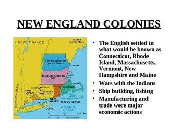 Colonial Era Powerpoint Presentation