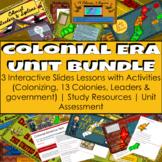 Colonial Era United States (U.S.) Unit Digital (Google App) BUNDLE