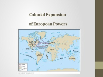 Colonial Expansion of European Powers