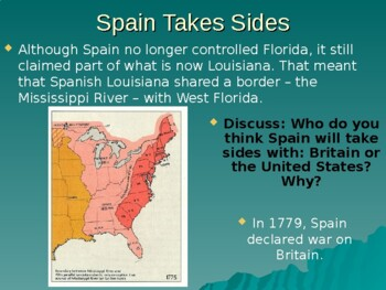 Colonial Florida American Revolution PowerPoint History Social Studies SS