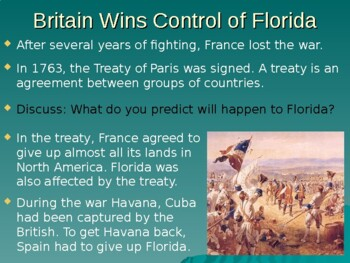 Colonial Florida History PowerPoint (Ownership) Social Studies SS 4th Gr FL