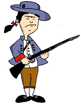 Colonial/Founding Fathers/American Revolution Clip Art!