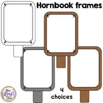 Colonial Borders and Colonial Frames (10 PNG images Commercial or Personal Use)