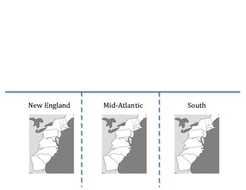 Colonial Geography: New England, Mid-Atlantic and Southern