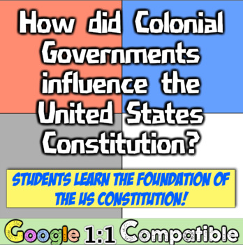 Colonial Governments & US Constitution: How did Colonies i