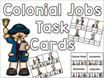 Colonial Job Task Cards