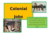 Colonial Jobs - REVISED!!