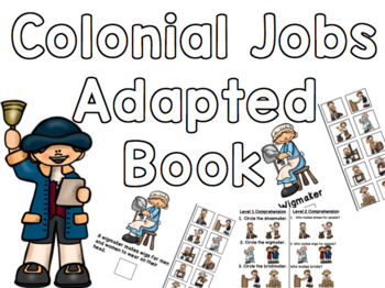 Colonial Jobs Adapted Book