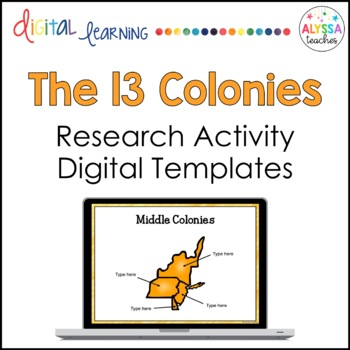 13 colonies digital templates by alyssa teaches tpt 13 colonies digital templates toneelgroepblik Image collections