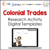 Colonial Jobs Research Activity for Google Drive