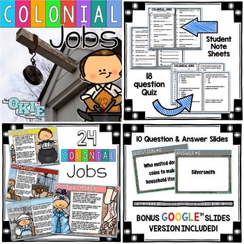 Colonial Jobs SUPER BUNDLE