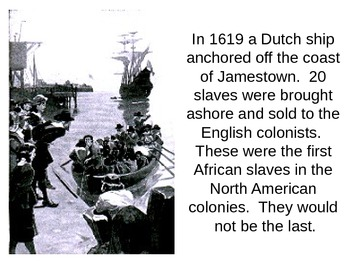 Colonial Labor: North and South