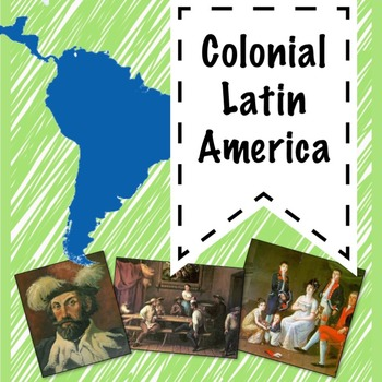 Colonial Latin America guided PowerPoint lesson