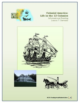 Colonial Life Lesson 7 - Life for Servants