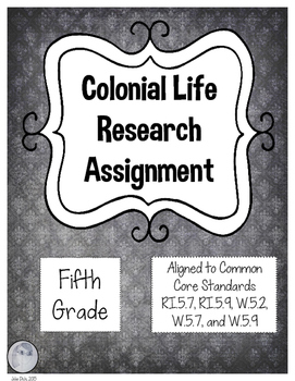 Colonial Life Assignment
