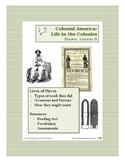 Colonial Life - Slaves - Lesson 8