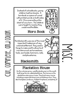Colonial Life Paper Bag Book