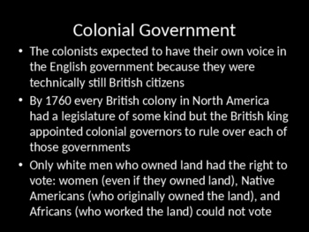 Colonial Life Powerpoint