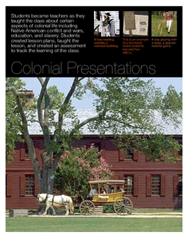 Colonial Life Presentation Poster