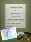 Colonial Life in America Hyperdoc