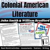 Colonial American Literature - John Smith and William Bradford