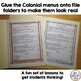 Colonial Meal Math at Mount Vernon Fun Math Activity with a History Twist