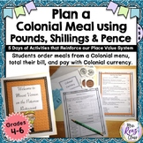 Colonial Meal Math at Mount Vernon Fun Math Activity with