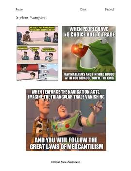 Colonial Meme
