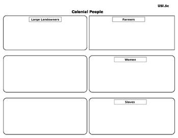 Colonial People Sort-USI.5c