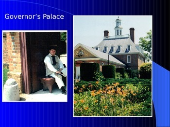 Colonial PowerPoint Series - Williamsburg, VA, a Colonial Town