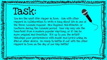 Colonial Rap Battle