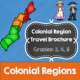 Colonial Region Research and Travel Brochure Project- Common Core- 3rd, 4th, 5th