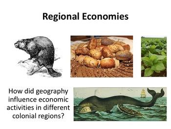 Colonial Regional Economies