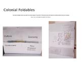 Colonial Regions Foldables